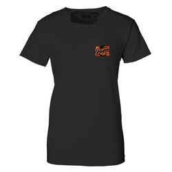 Logo Ladies Burnout Black