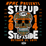 2014 PI KAPPA PHI Step Up Step Aside Shirt